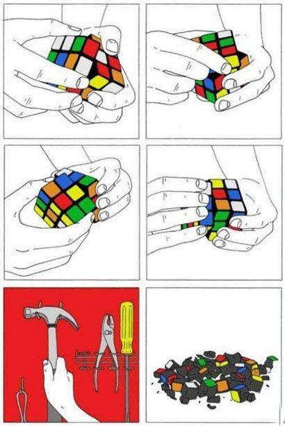Como resolver o cubo mágico